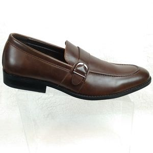 Kenneth Cole Unlisted Mens Sz 13 Brown Dress Shoes